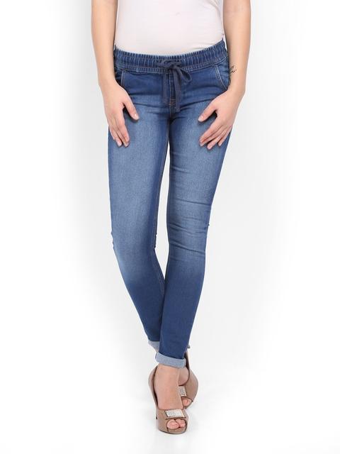 Flying Machine Women Blue Twiggy Super Skinny Fit Jeans