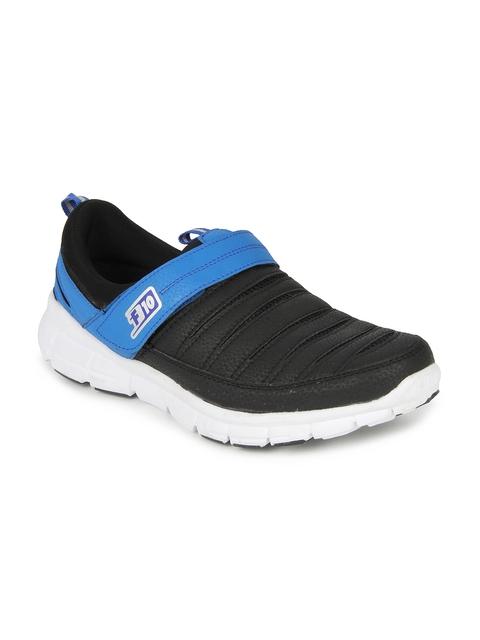 Force 10 Men Black Casual Shoes