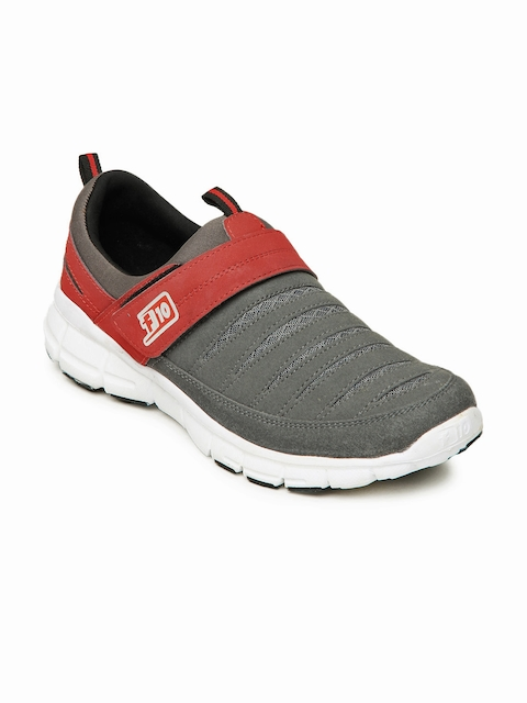 Force 10 Men Grey Casual Shoes