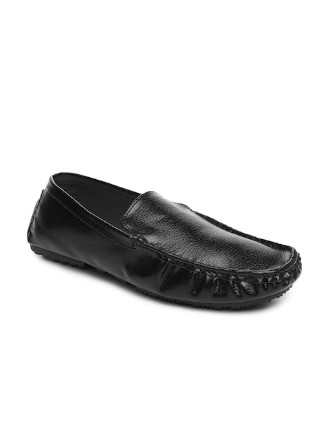 Fortune Men Black Casual Shoes