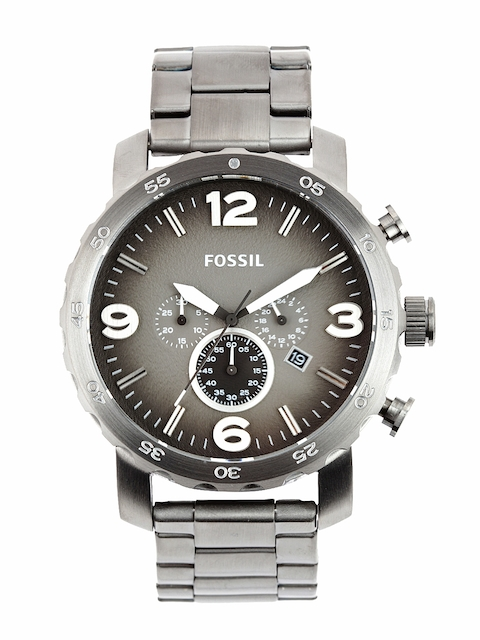 Fossil Men Grey Dial Chronograph Watch JR1437  available at myntra for Rs.9995