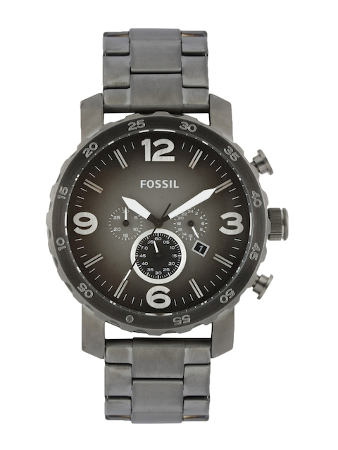 Fossil Men Grey Dial Chronograph Watch JR1437