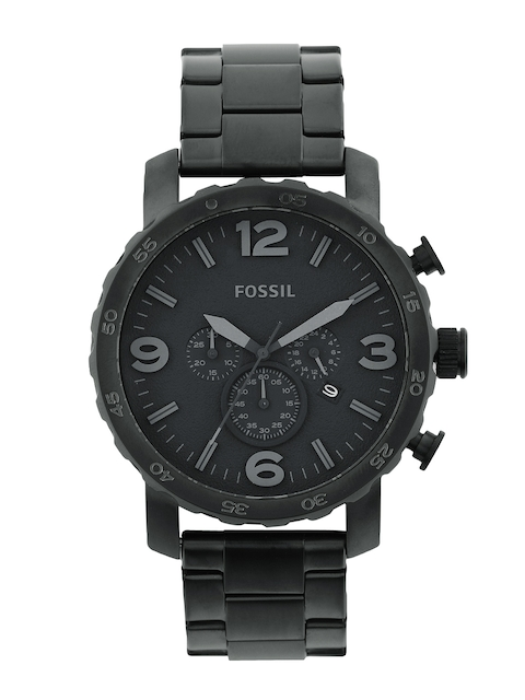 Fossil Men Black Dial Watch
