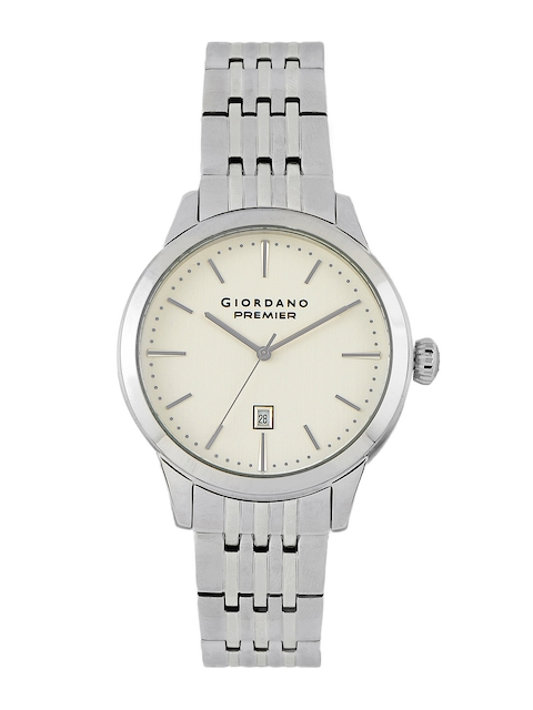 Giordano Men White Dial Watch