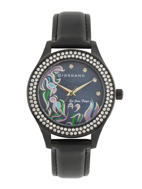 Giordano Women Blue Dial Watch