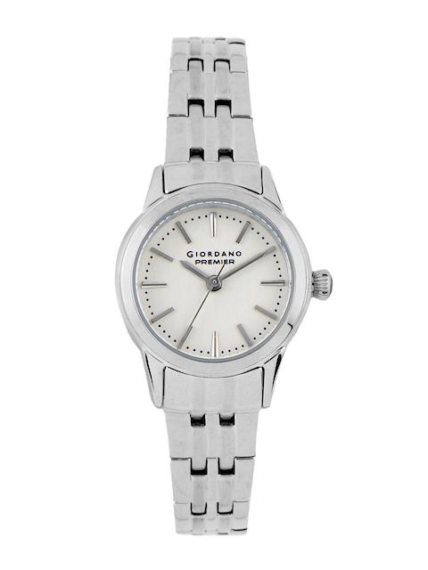 Giordano Women White Dial Watch