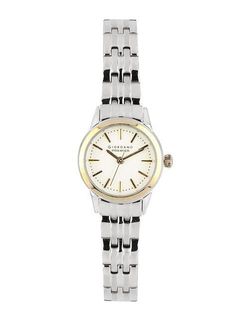 Giordano Premier Women White Dial Watche