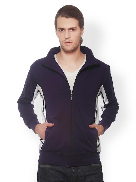 GRITSTONES Men Navy Sweatshirt