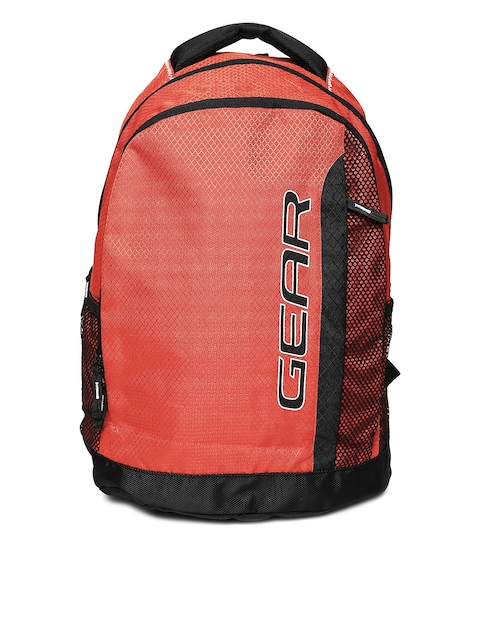 Gear Unisex Rust-Coloured Backpack