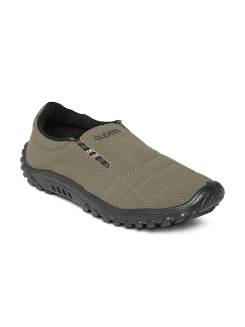 Gliders by Liberty Men Olive Green Casual Shoes
