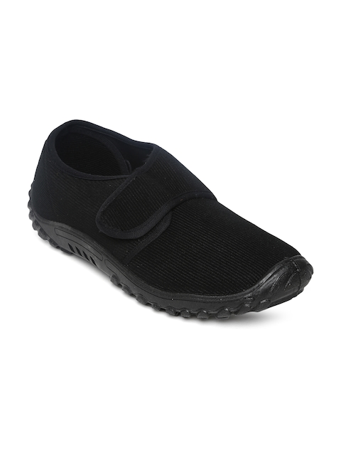 Gliders Men Black Casual Shoes