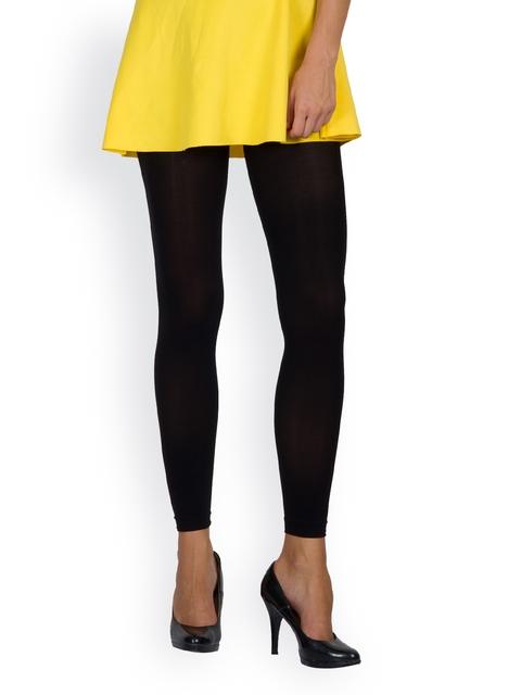 Golden Girl Black Footless Stockings