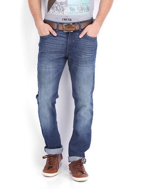 IZOD Men Dark Blue Skinny Fit Jeans