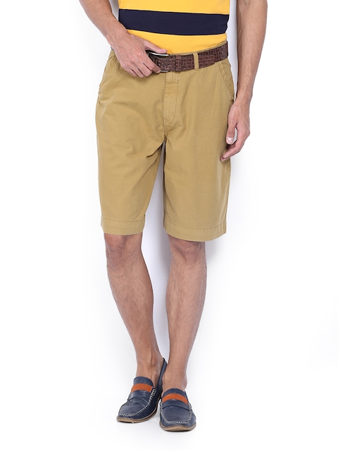 IZOD Men Khaki Shorts