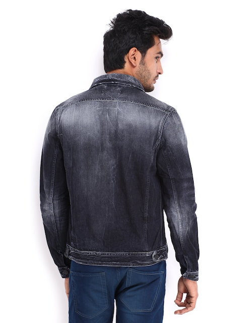 Jack & Jones Men Dark Grey Denim Jacket Price in India on 12-11 ...
