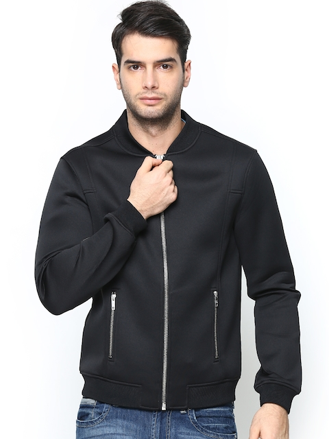 Jack & Jones Men Black Jacket