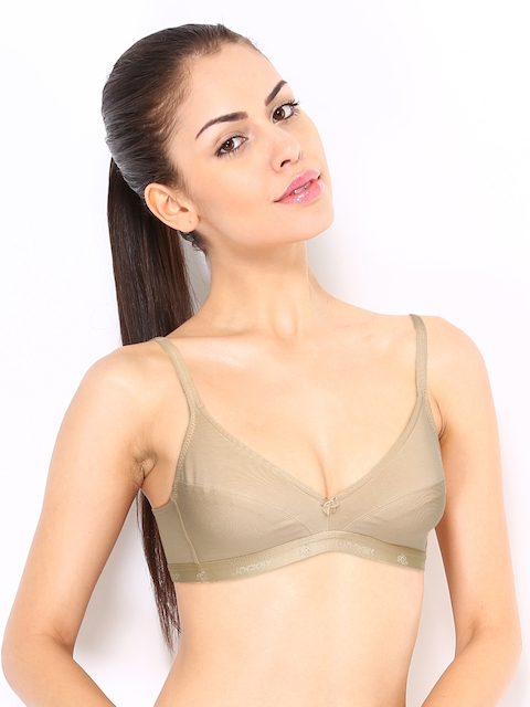 Jockey Essence Nude-Coloured Plunge Bra 12710105
