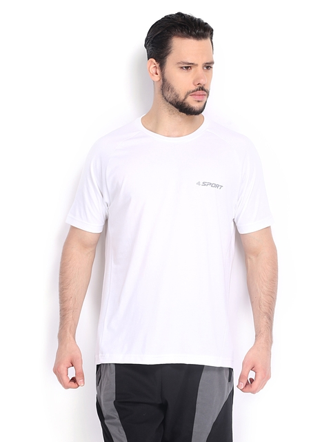 Jockey Men White T-shirt