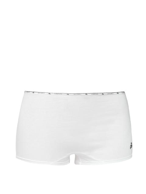 Jockey Women White Short Briefs SS04-0105