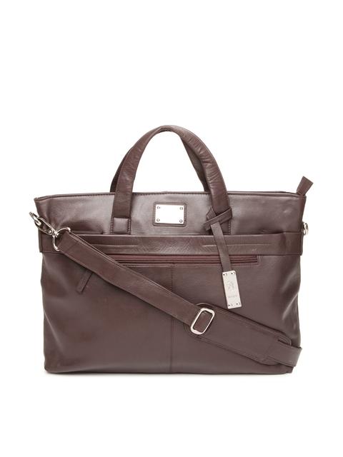 Kara Brown Leather Handbag