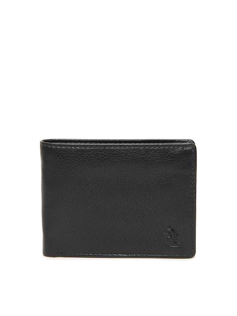 Kara Men Black Leather Wallet