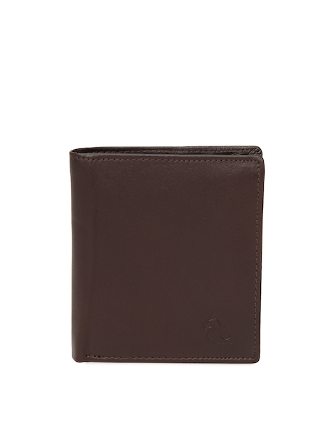 Kara Men Brown Leather Wallet