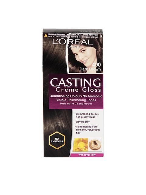L'Oreal Paris Casting Creme Gloss Hair Color - Dark Brown 400