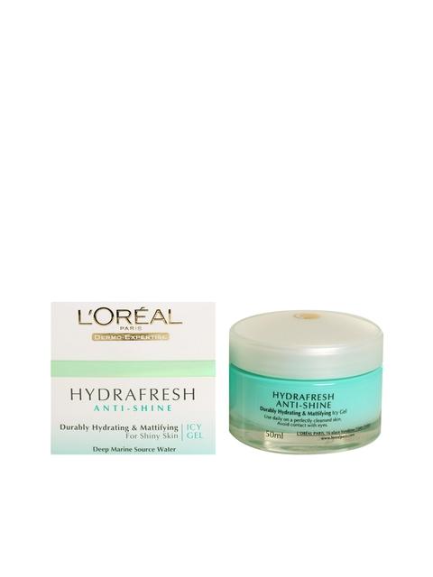 LOreal Paris Women Hydra Fresh Anti-Shine Icy Gel