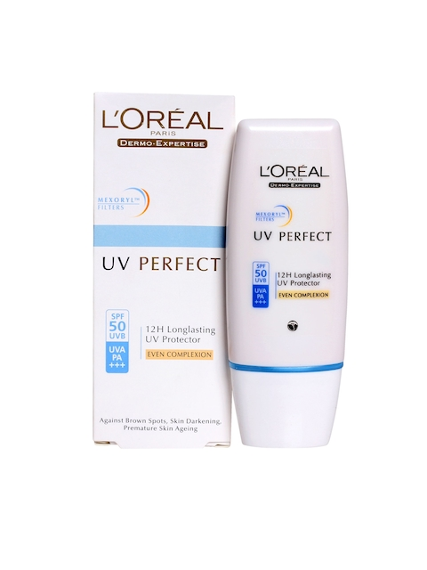 LOreal Women UV Perfect 12H Longlasting Even Complexion UV Protector