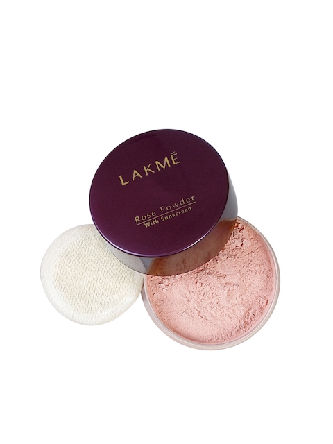 Lakme Rose Face Powder, Warm Pink