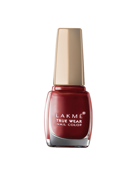 Lakme True Wear Classics Berry Wine Nail Polish 401