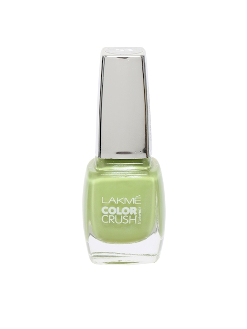 Lakme Truewear Color Crush Green Nail Polish 53
