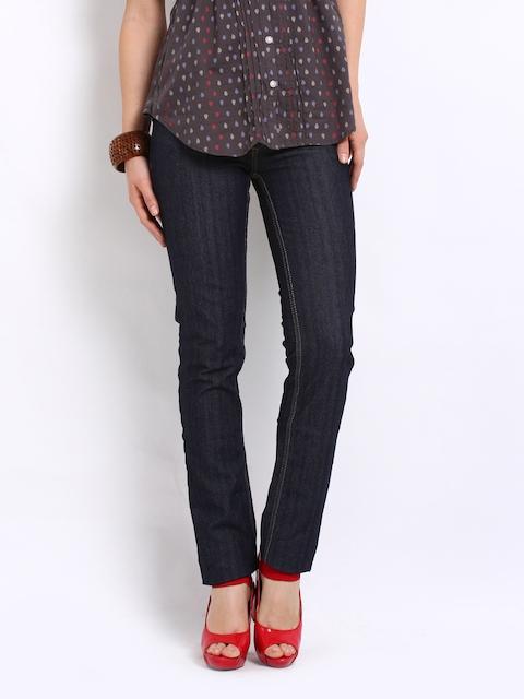 Lee Women Dark Blue Amy Skinny Fit Jeans