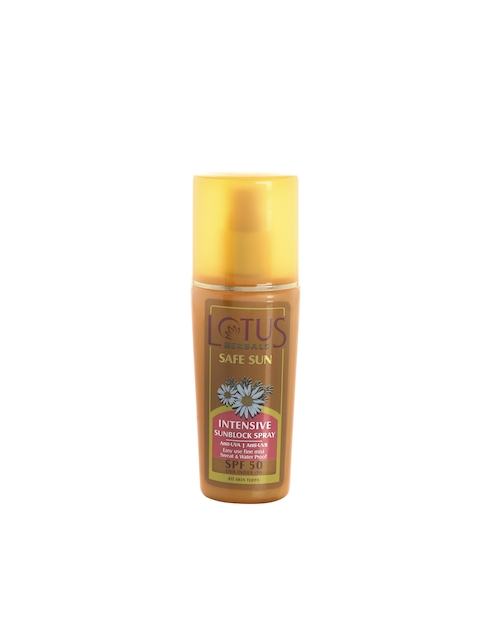 Lotus Herbals Safe Sun Intensive Sunblock Spray SPF 50 (80ml)