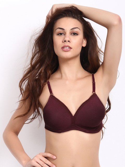Lovable Wine Coloured Bra Confi-41
