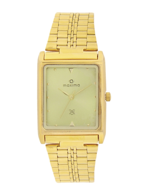 Maxima Men Gold Watch