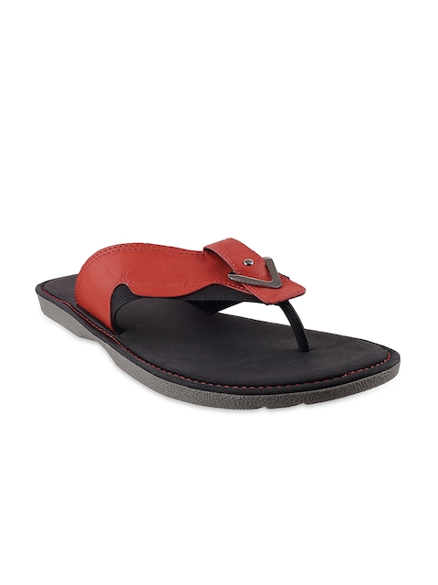 Metro Men Red Sandals