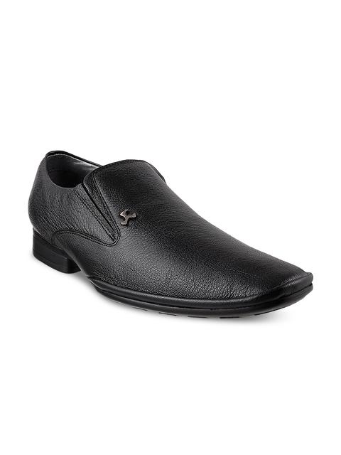 Mochi Men Black Formal Shoes