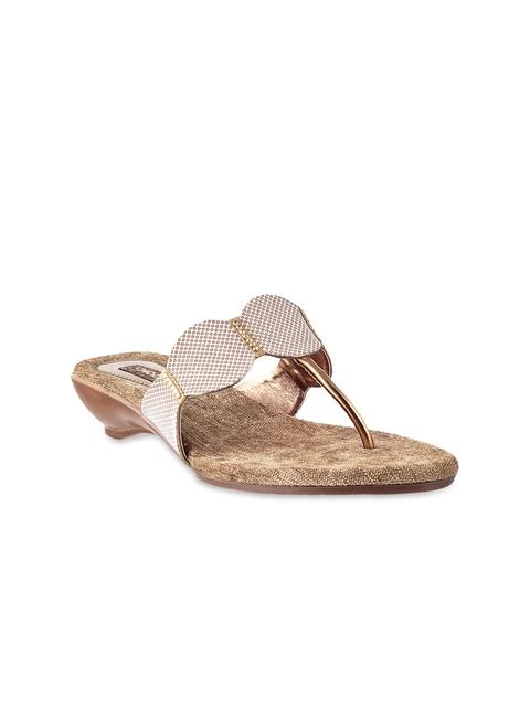 Mochi Women Gold-Toned Heels