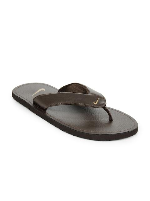 5e3d089c6e68a Buy mens brown nike flip flops