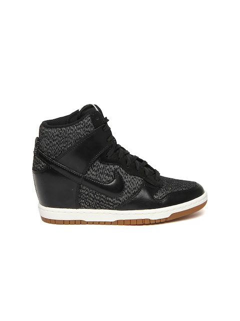 buy popular d3486 60e76 ... Buy Nike Black Dunk Sky Hi Essential NSW Casual Shoes - Casual Shoes  for Women ...