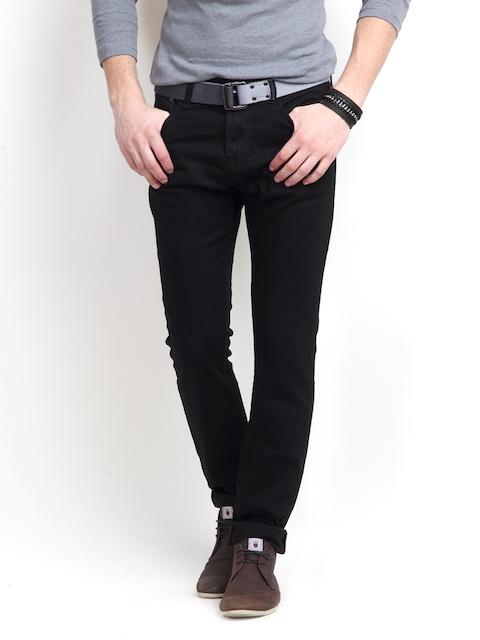 Pepe Jeans Men Black Soho Fit Stretchable Jeans