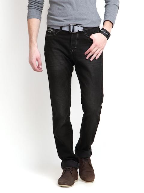 Pepe Jeans Men Black Soho Super Slim Fit Jeans