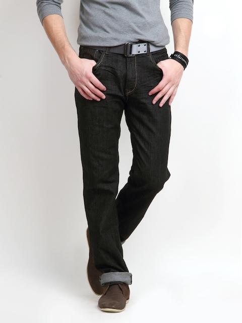 Pepe Jeans Men Black Holborne Fit Stretchable Jeans