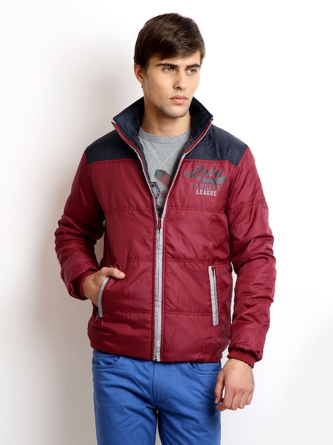 Proline Red & Blue Quilted Jacket