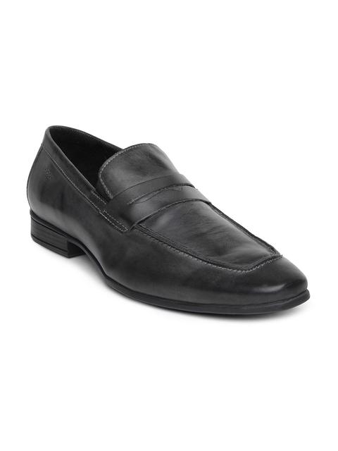 Ruosh Work Men Grey Classic Shoes