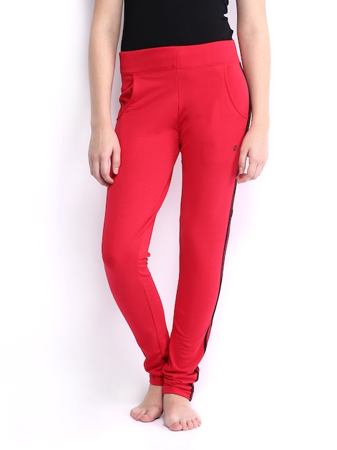 SDL by Sweet Dreams Women Red Lounge Pants F-LAP-4176