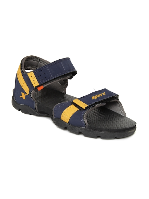 Sparx Men Navy Blue Sports Sandals  available at myntra for Rs.699