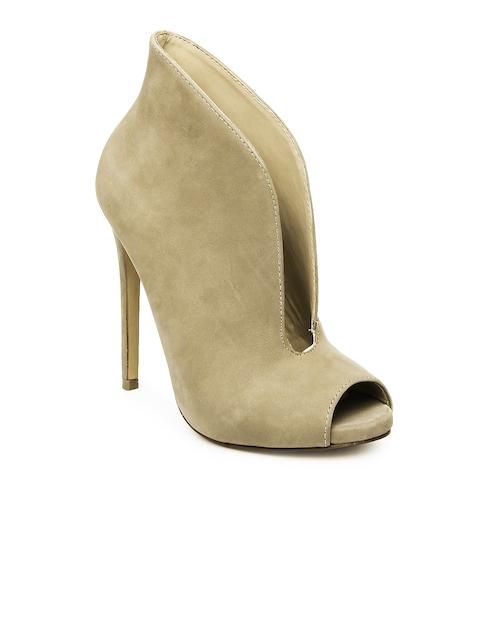 Steve Madden Women Mushroom Brown Heels