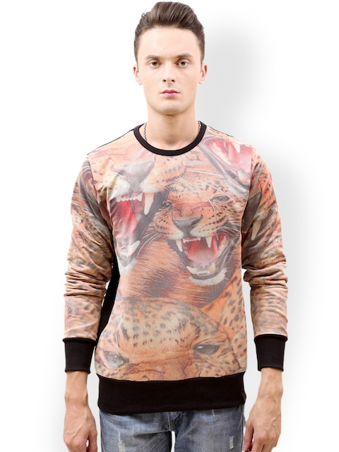 Tiktauli De.Corps. Men Multicoloured Sweatshirt